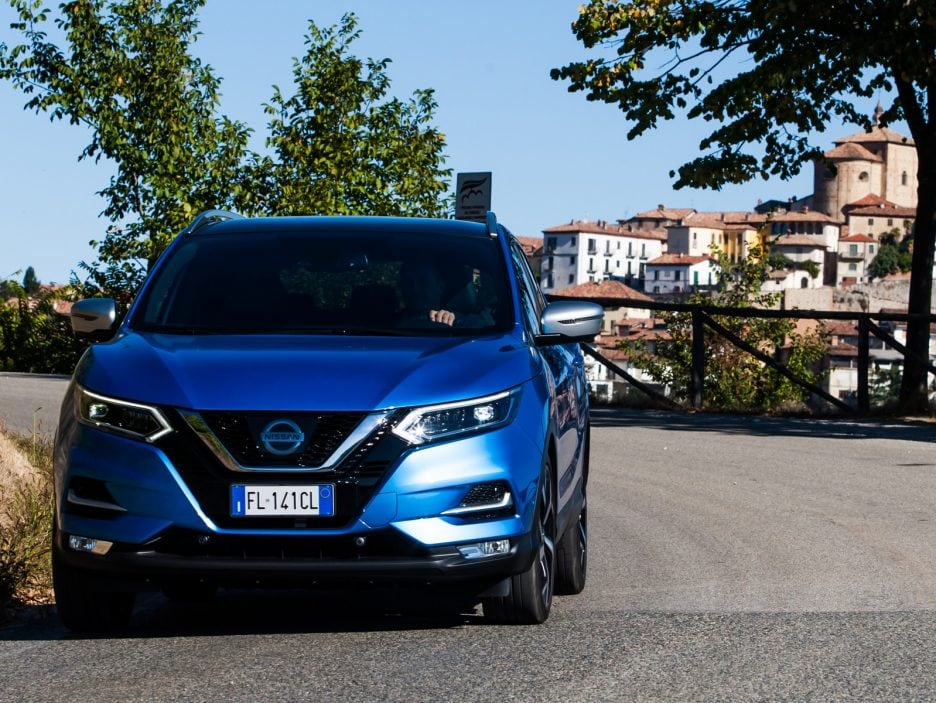 Nissan Qashqai restyling frontale