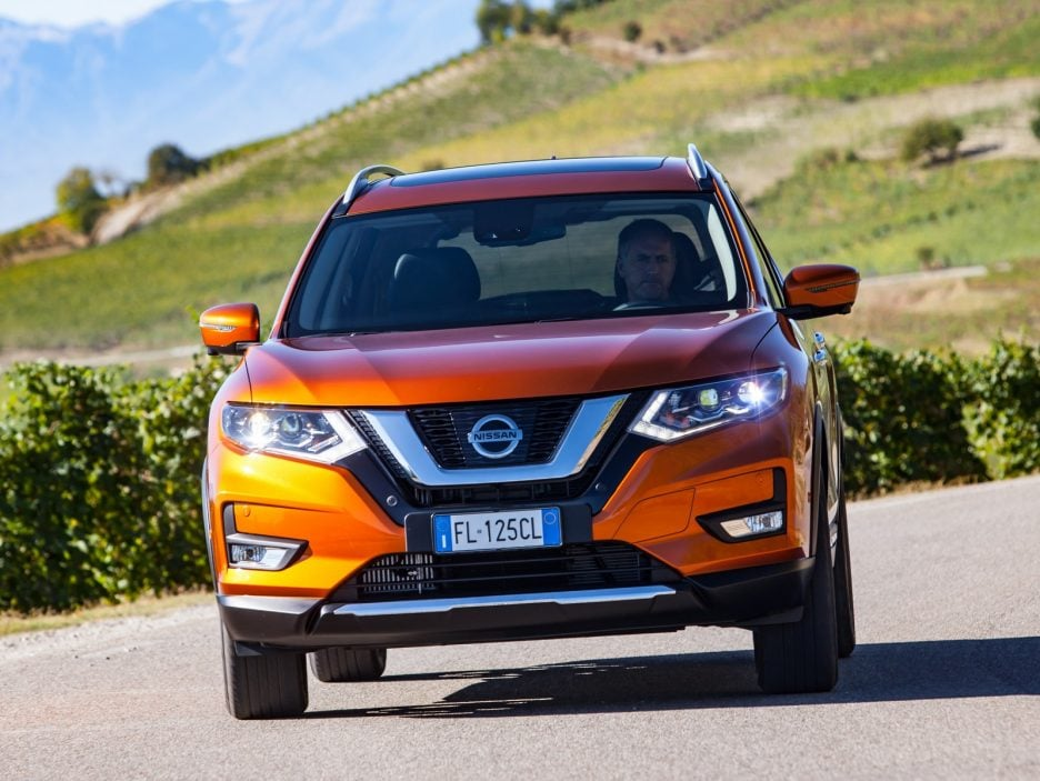 Nissan X-Trail restyling frontale