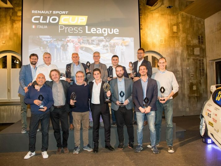 Renault Clio Cup Press League, giochi conclusi