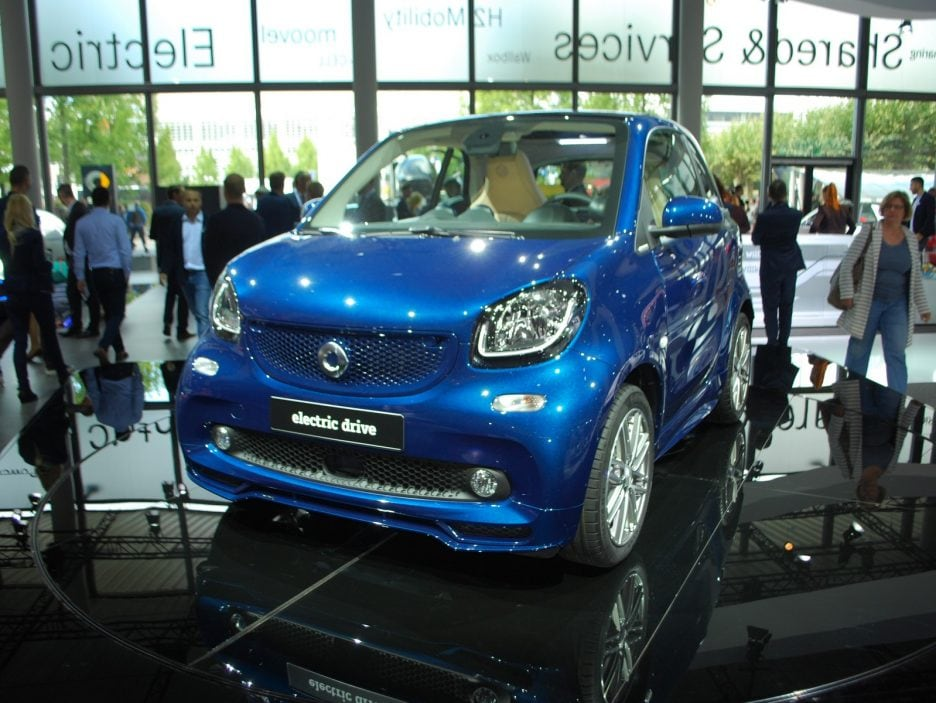 Smart fortwo electric drive 2 - Francoforte 2017