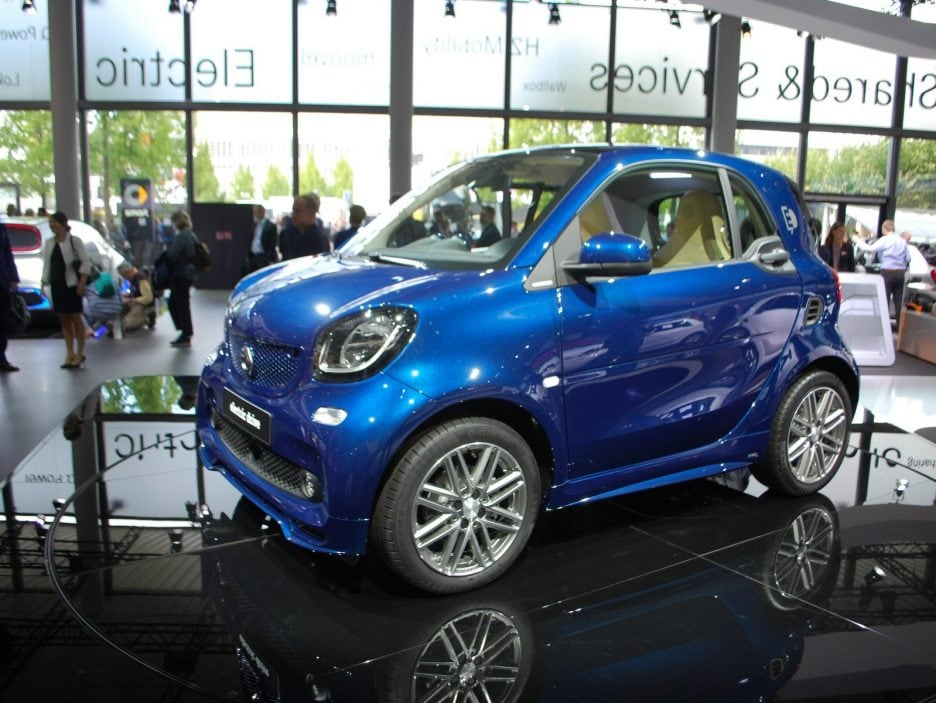 Smart fortwo electric drive - Francoforte 2017