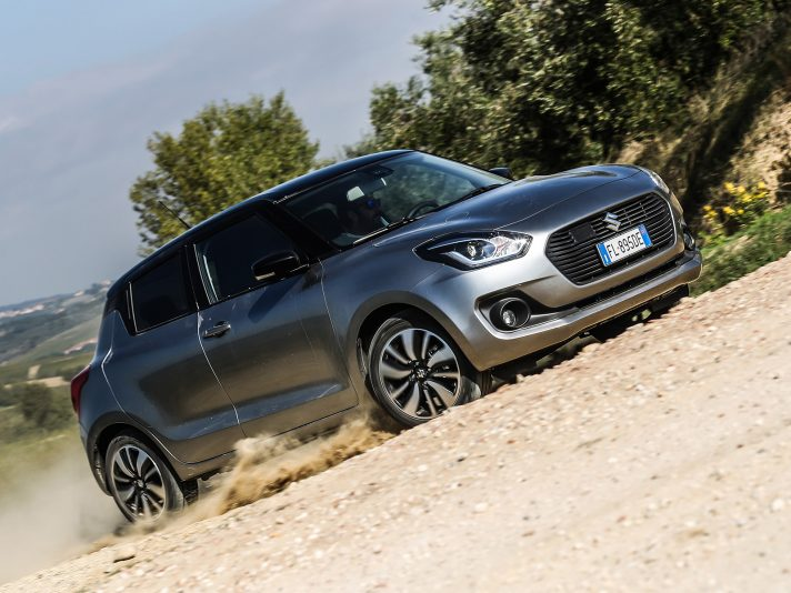 Suzuki Swift 1.2 Hybrid Top 4WD AllGrip, le prime impressioni di guida