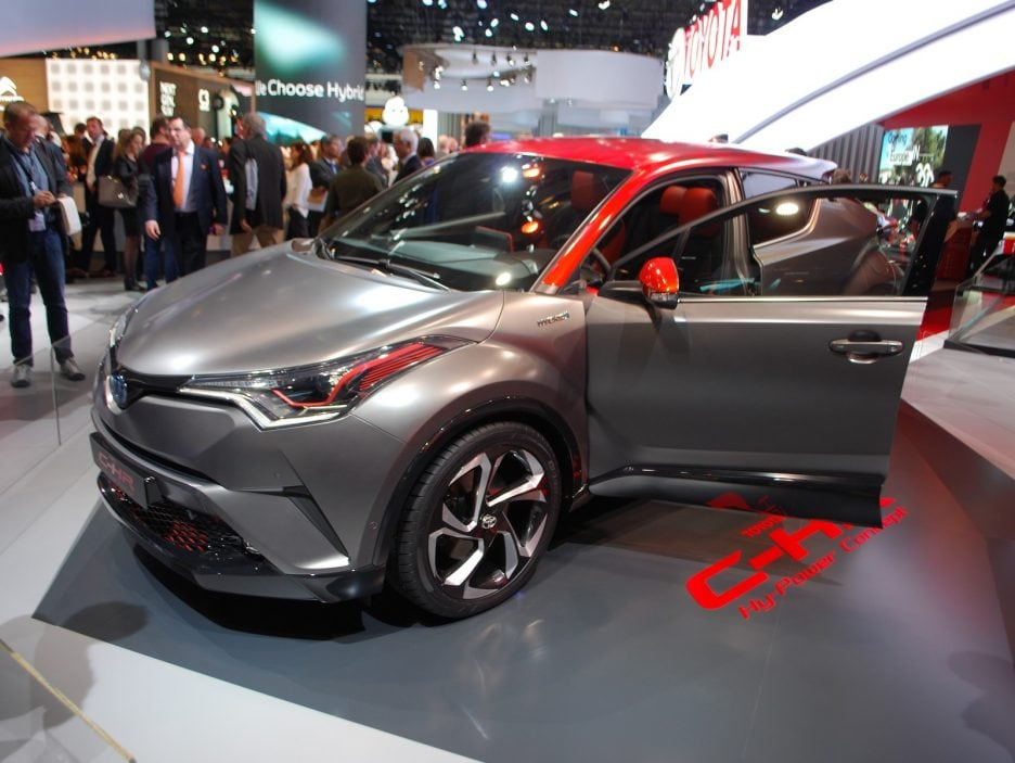 Toyota C-HR HY-POWER 3 - Francoforte 2017