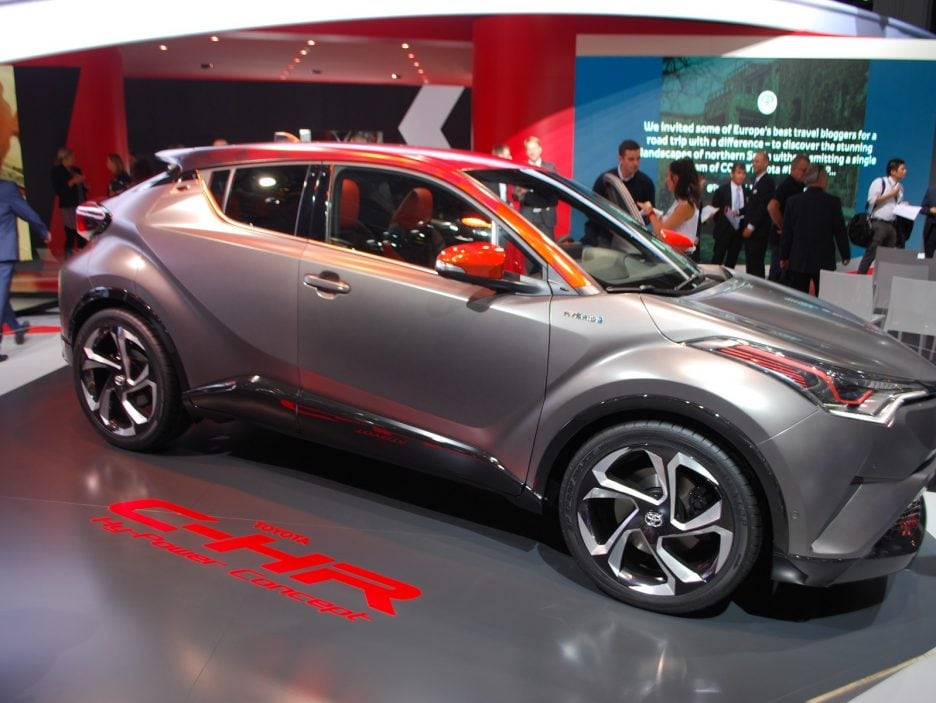 Toyota C-HR HY-POWER - Francoforte 2017
