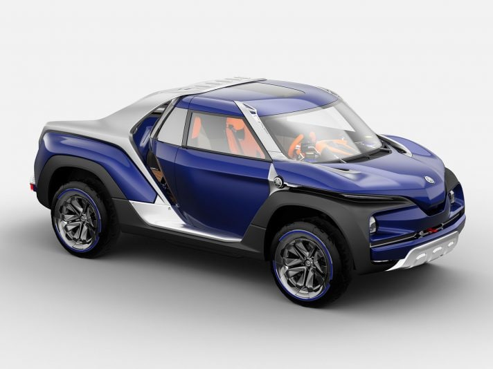 Yamaha Cross Hub Concept, prove di pick-up