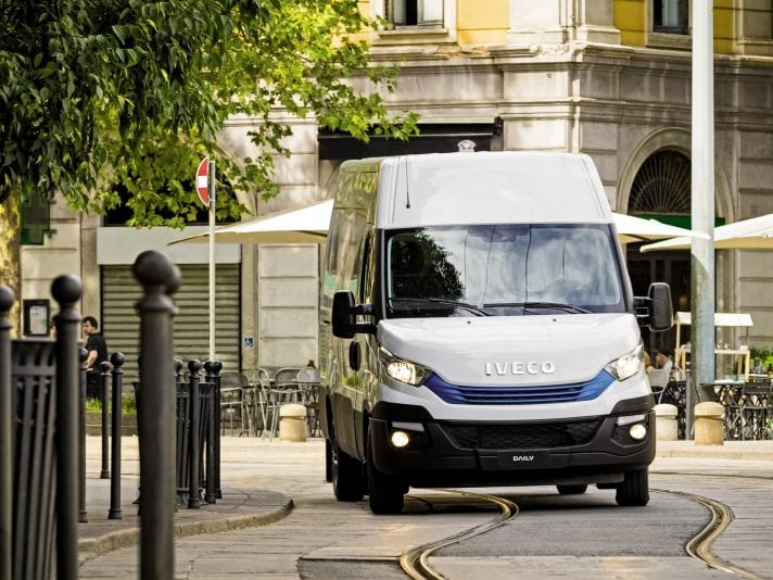 Iveco Daily BluePower frontale