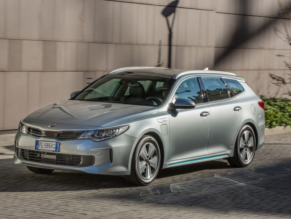 Kia Optima Sportswagon PHEV