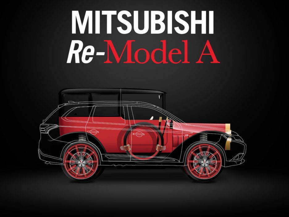 MITSUBISHI RE-MODEL A TO MAKE TELEVISION DEBUT ON VELOCITY'S