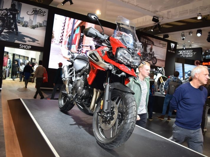 Triumph a EICMA 2017: Tiger in primo piano