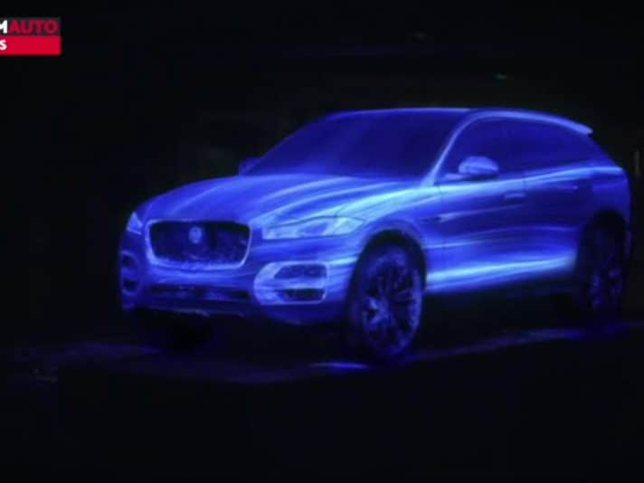 Jaguar F-Pace, un video che ne esalta il design