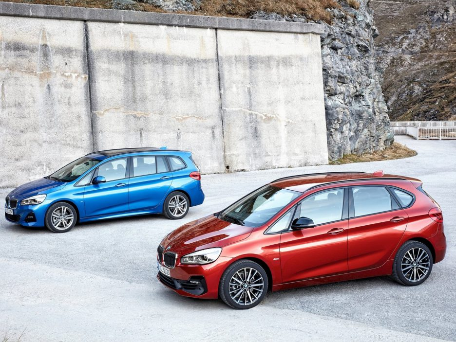 BMW Serie 2 Active Tourer, è tempo di restyling [FOTO e VIDEO]