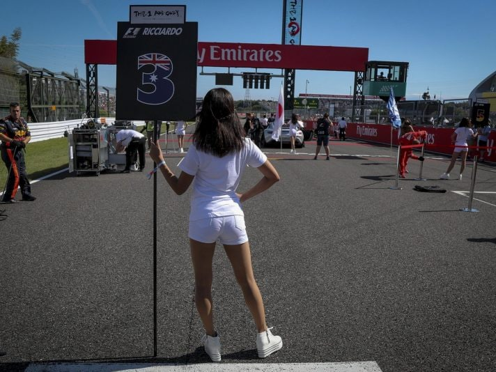 F1, addio alle grid girl