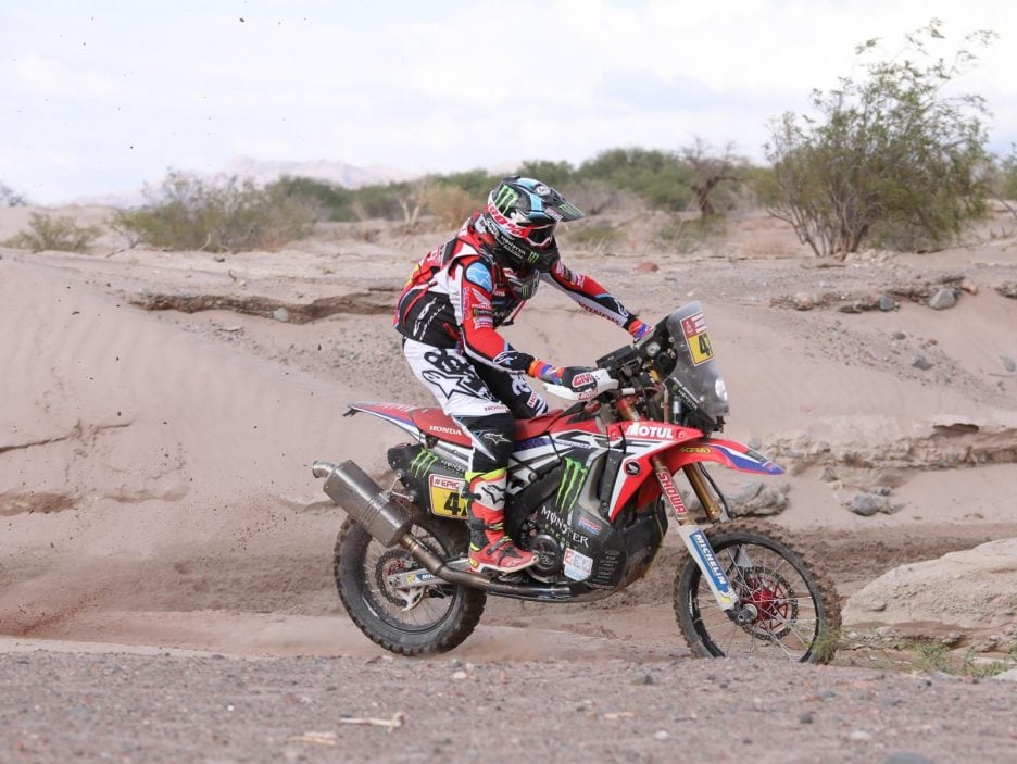 Stage 11 of the Rally Dakar 2018