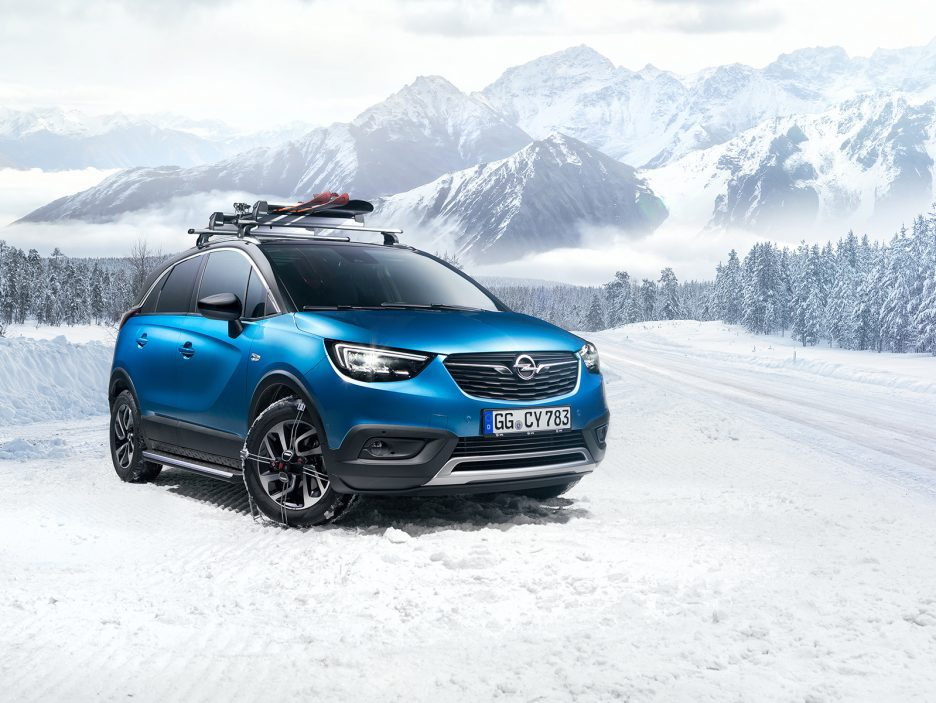 Original Opel accessories for the Crossland X