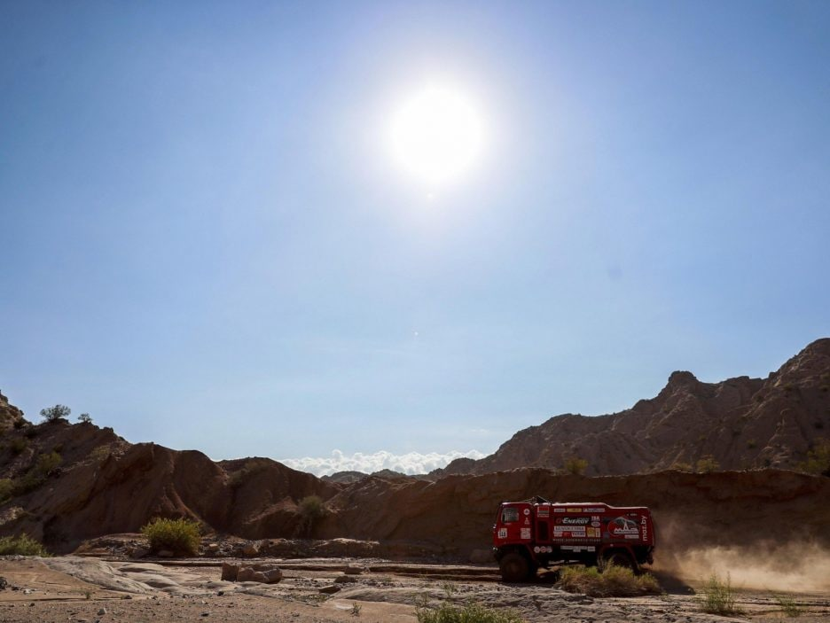 Stage 12 of the 2018 Rally Dakar