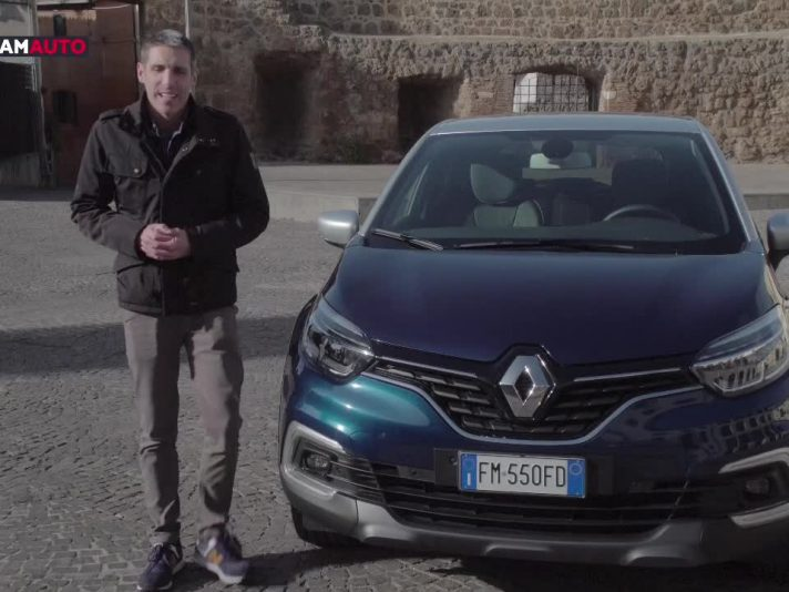 Renault Captur 2017 Energy Bose dCi 90 EDC, la video-prova