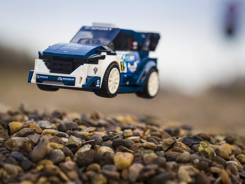 World Championship-Winning M-Sport Ford Fiesta WRC Rally Car Joi