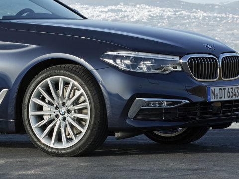 Goodyear on BMW 5 Series