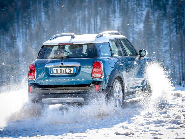 MINI: la gamma ALL4 a trazione integrale