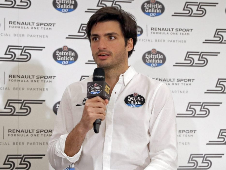 Carlos Sainz Jr press conference