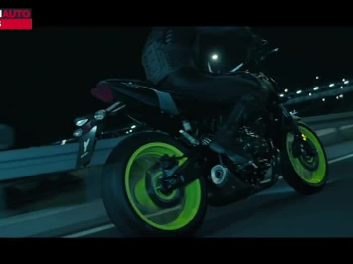 Yamaha MT-07 2018, il video