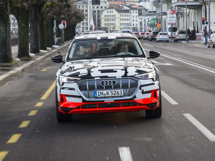 Audi e-tron già ordinabile