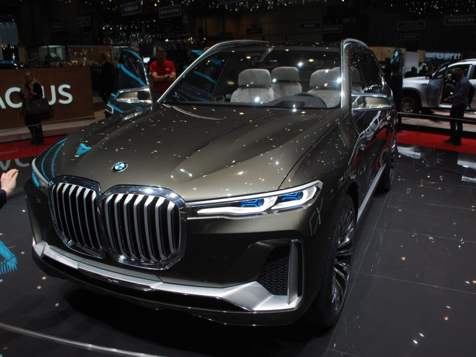 BMW Concept X7 iPerformance 2 - Ginevra 2018