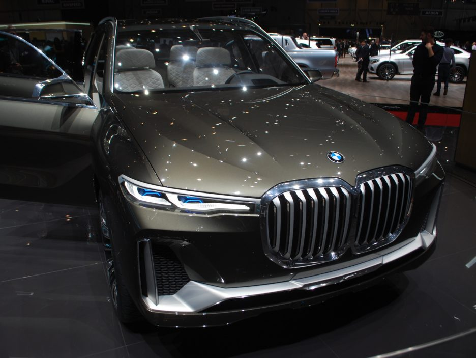 BMW Concept X7 iPerformance - Ginevra 2018