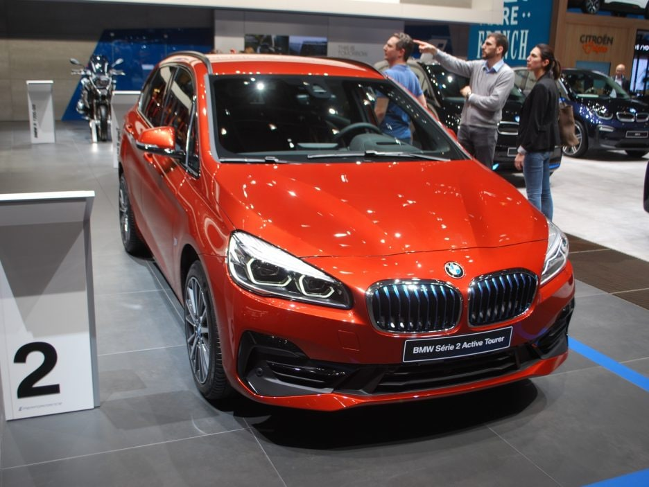 BMW serie 2 Active Tourer restyling - Ginevra 2018