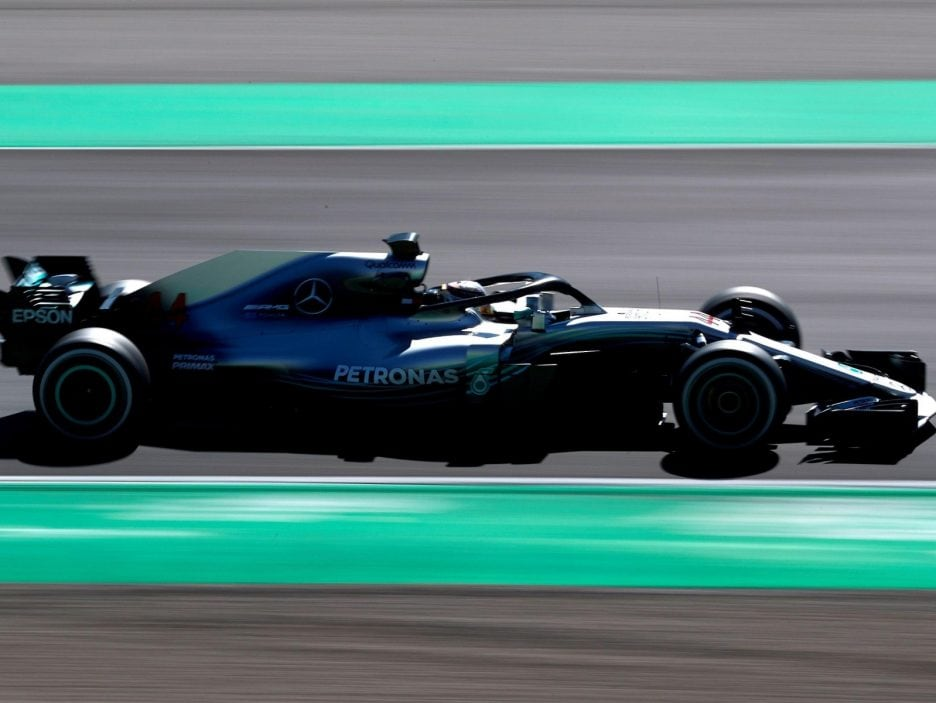 Formula One pre-season test sessions at Circuit de Barcelona-Catalunya race track