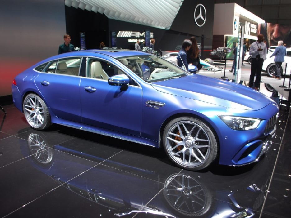 Mercedes-AMG GT Coupé4 2 - Ginevra 2018