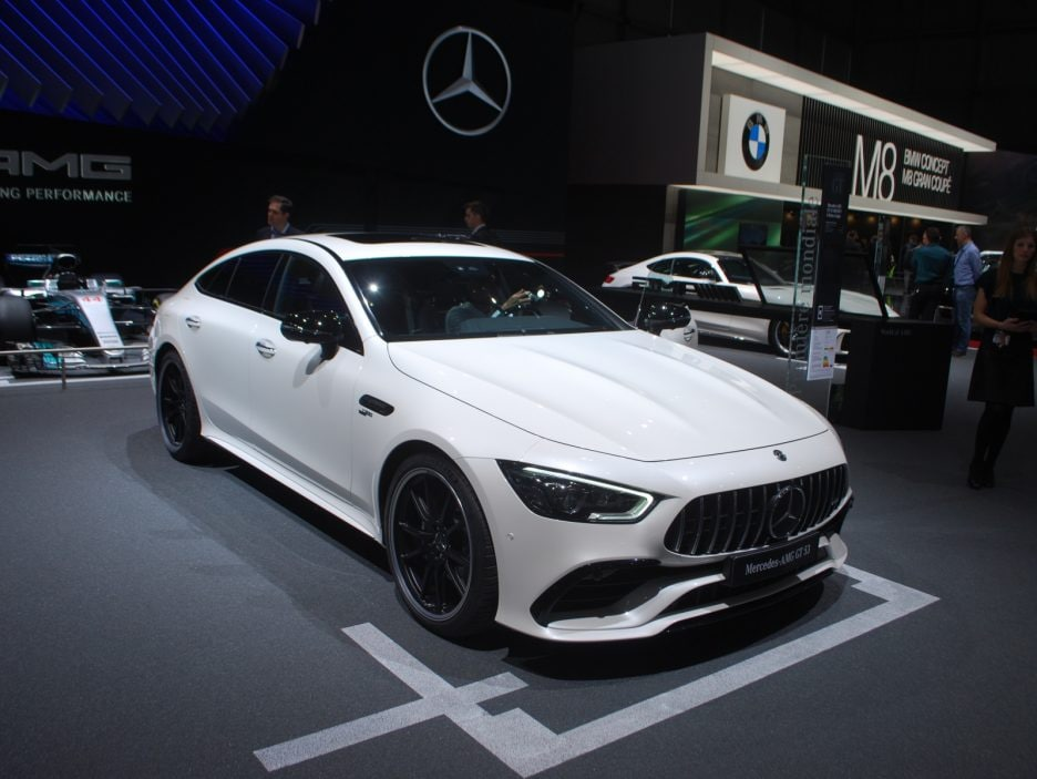 Mercedes-AMG GT Coupé4 3 - Ginevra 2018