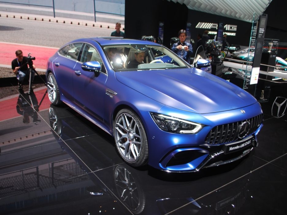 Mercedes-AMG GT Coupé4 - Ginevra 2018