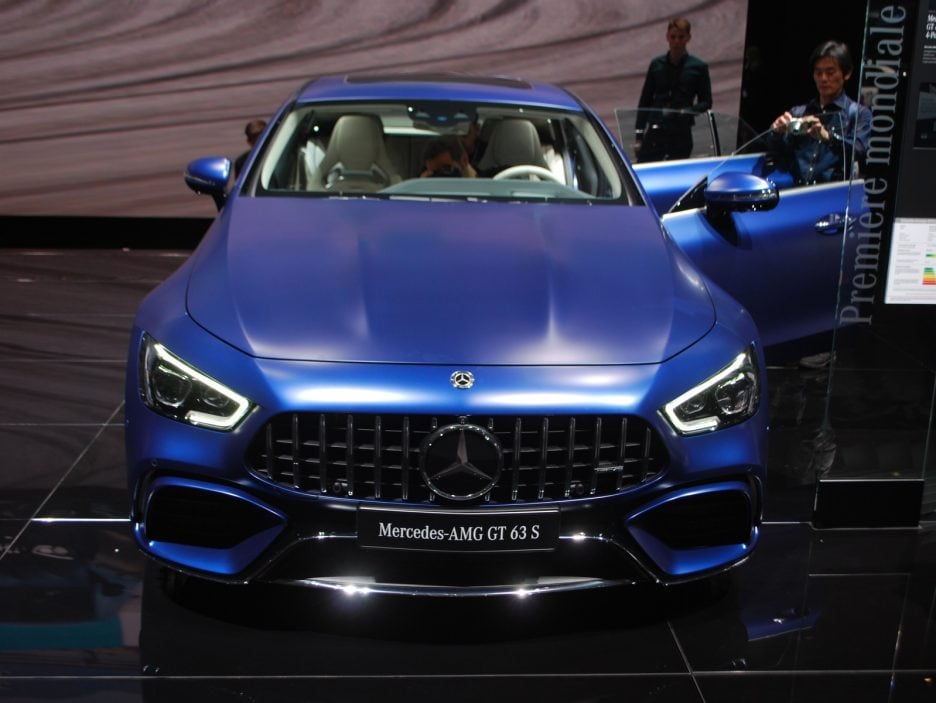 Mercedes-AMG GT Coupé4 frontale - Ginevra 2018