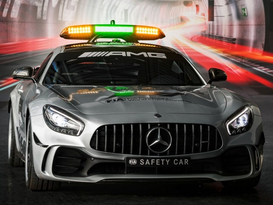 Mercedes GT AMG R Safety Car F1 2018 frontale