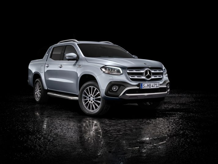 Mercedes X 350 d: il pick-up classe X diventa V6