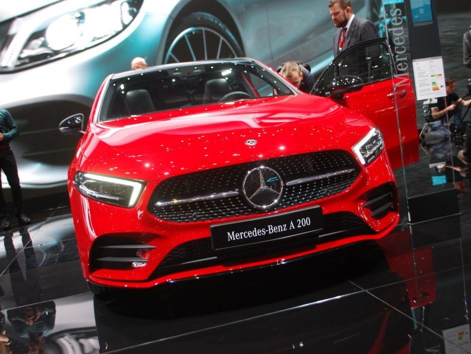 Mercedes classe A frontale - Ginevra 2018