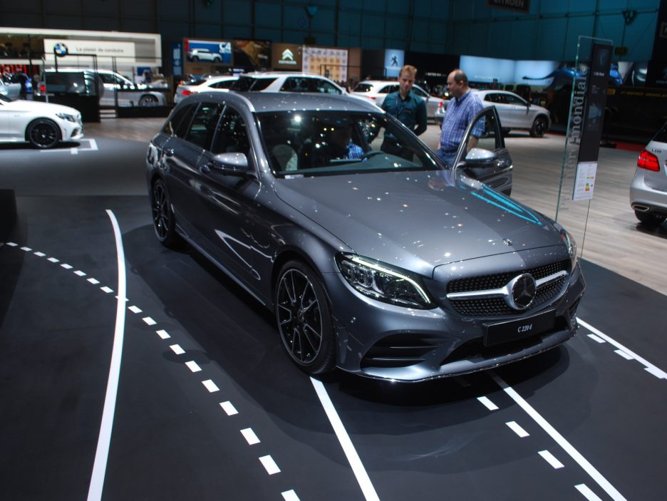 Mercedes classe C SW restyling 3 - Ginevra 2018