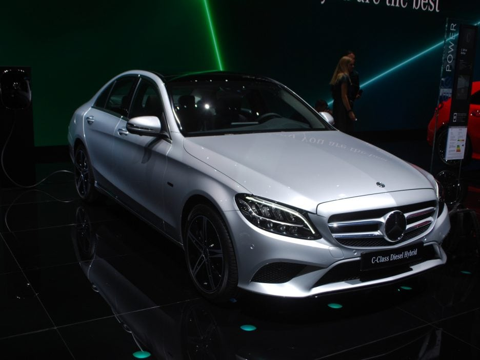 Mercedes classe C restyling 2 - Ginevra 2018