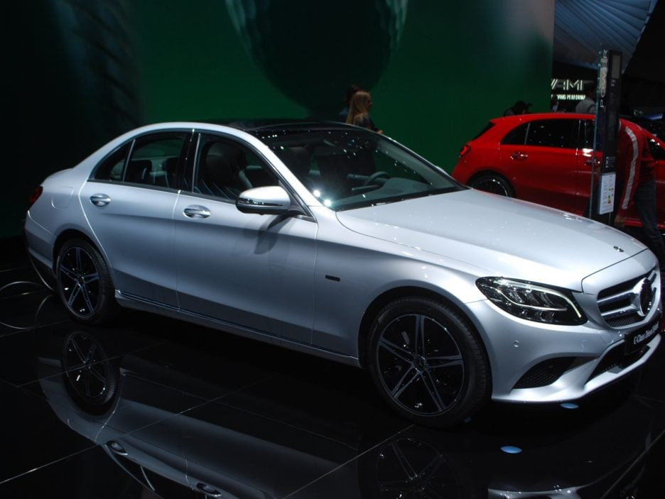 Mercedes classe C restyling 3 - Ginevra 2018