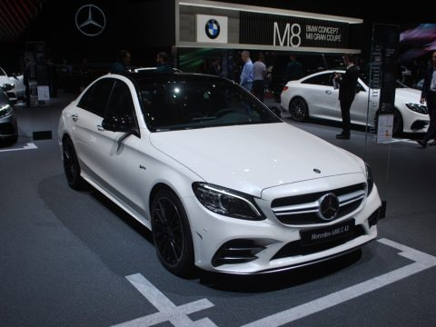 Mercedes classe C restyling 5 - Ginevra 2018