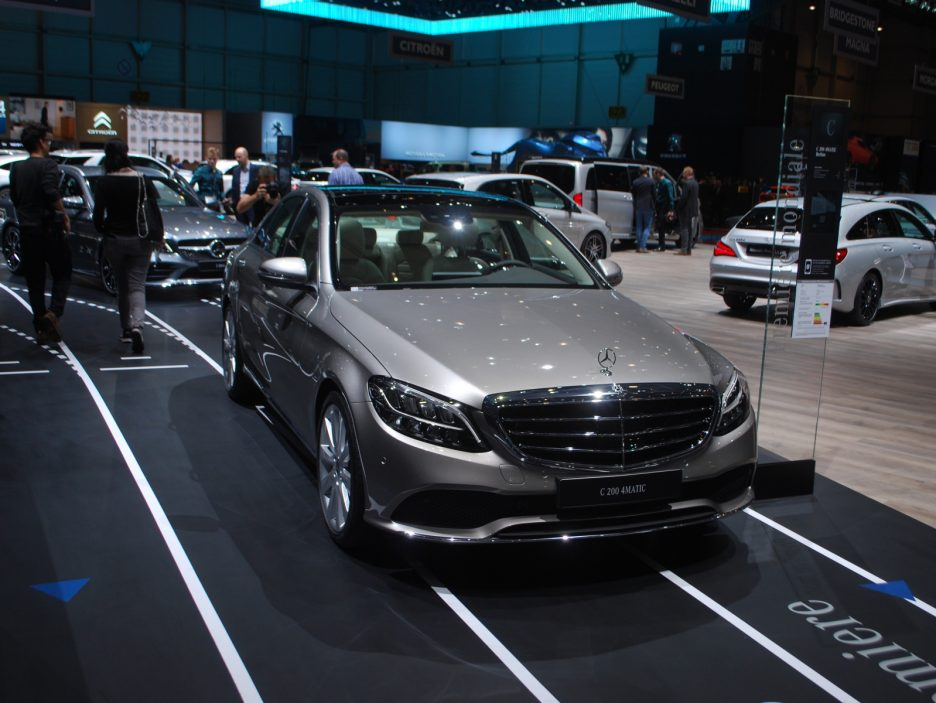 Mercedes classe C restyling 6 - Ginevra 2018