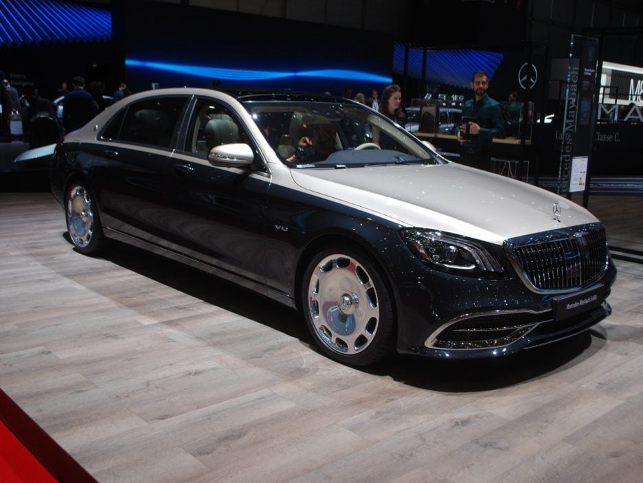 Mercedes classe S Maybach restyling 2 - Ginevra 2018