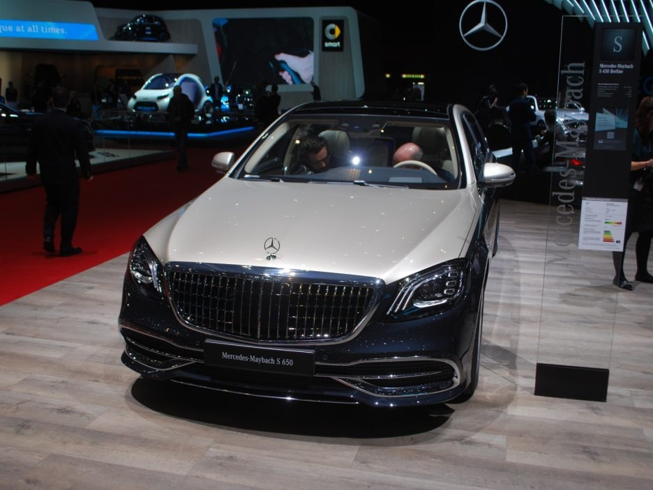 Mercedes classe S Maybach restyling - Ginevra 2018