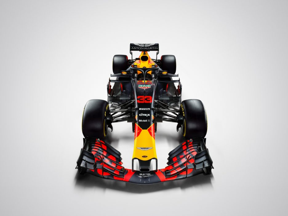Red Bull RB14 frontale