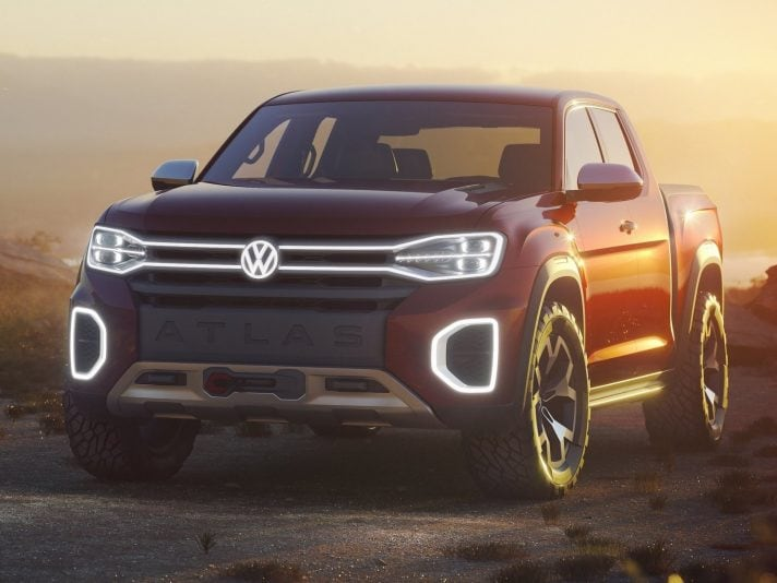 Volkswagen Atlas Tanoak: un pick-up concept per gli USA