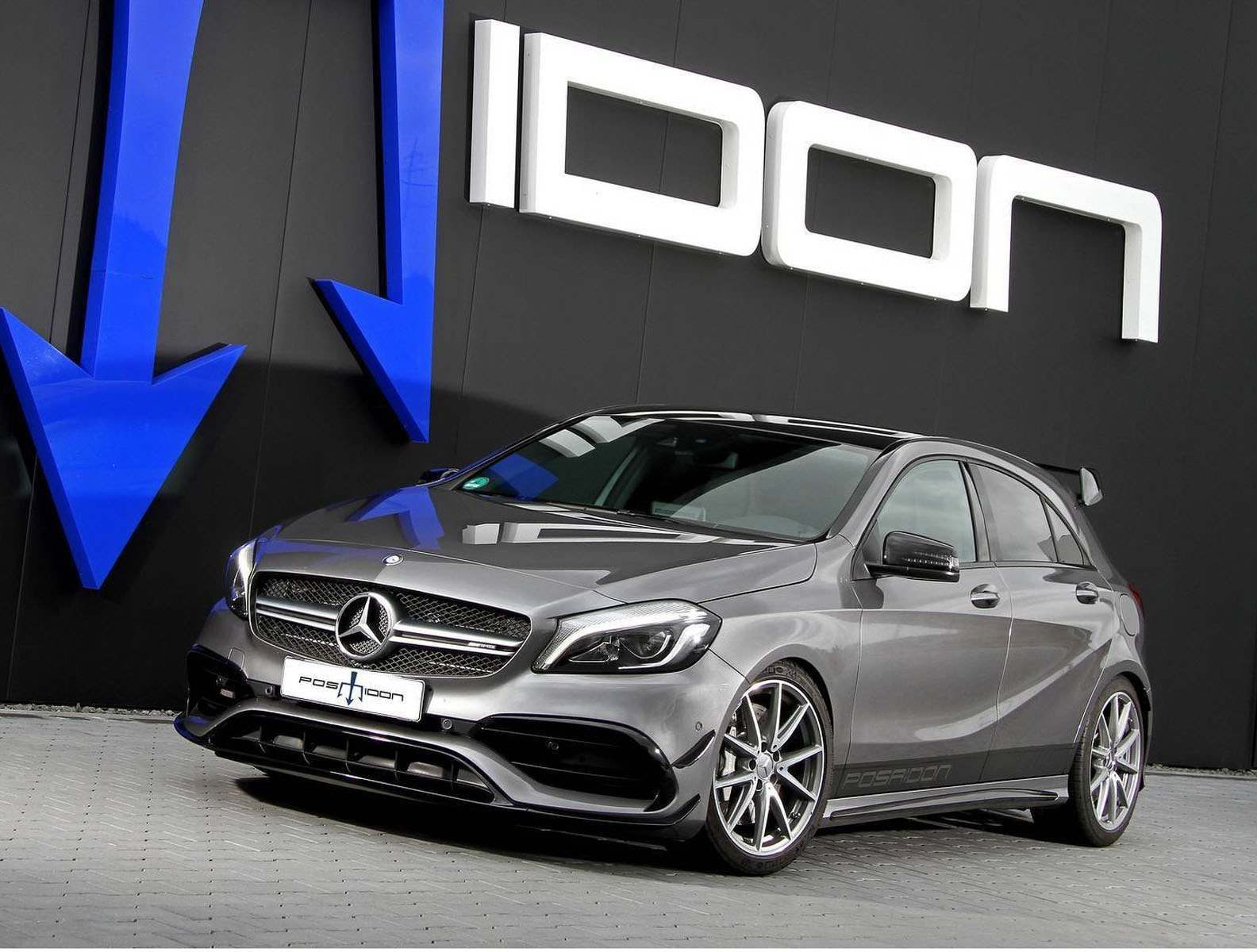 mercedes amg a45 by posaidon tuning panoramauto. Black Bedroom Furniture Sets. Home Design Ideas
