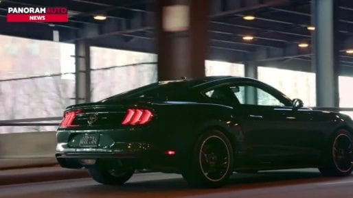 Nuova Ford Mustang Bullit, il video