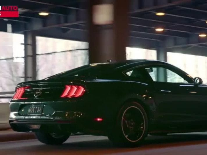 Nuova Ford Mustang Bullitt, il video