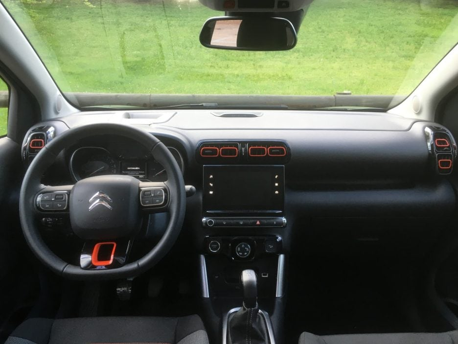 Citroën C3 Aircross interni 2
